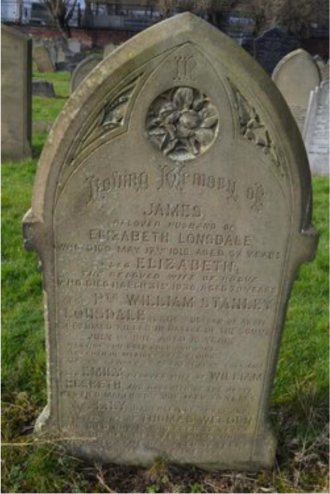 William Stanley Lonsdale Gravesite
