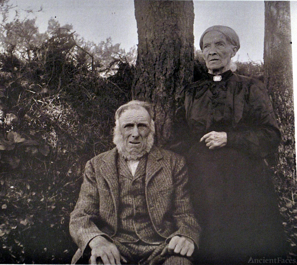 Alexander Taylor and his wife Fanny Johanna Budden taken before 1929.