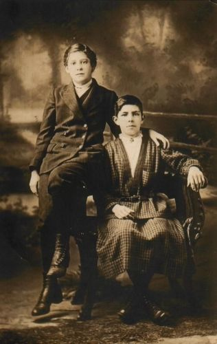 Elizabeth Hardiman and Bernard Doherty
