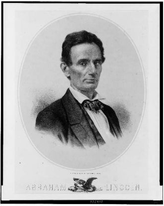 Abraham Lincoln / lith. & published by Edw. Mendel.