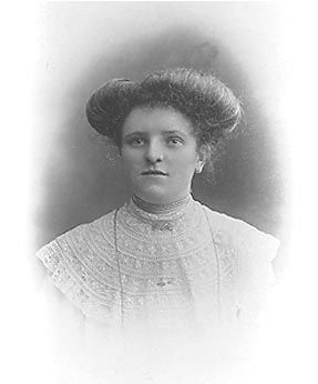 A photo of Nellie Tomkim