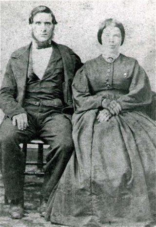 Richard and Margaret Burnop, 1860 Virginia