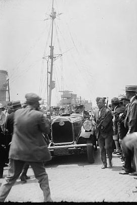 Charles Lindbergh parade