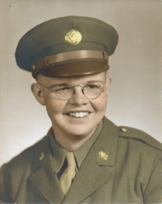 Warren S. Van Kleeck in uniform.