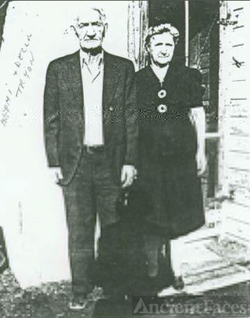Nephi & Della (Waller) Tryon