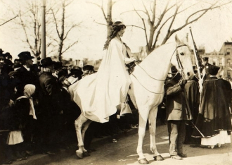 National American Woman Suffrage Association Parade