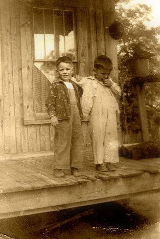 Wain McHenry and Michael Burke, Florida 1958