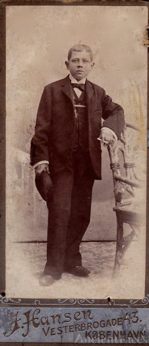 Gentleman from Copenhagen