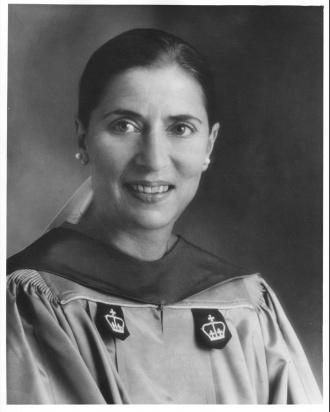 A photo of Ruth (Bader) Ginsburg