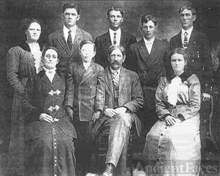 Joseph Henry Gregory Family