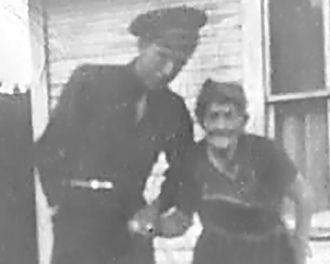 Cloyd Donald Masters and Grandmother Emma Clara Coy