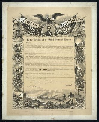 Emancipation Proclamation (Proclamation 95)