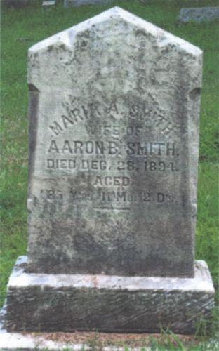Maria Aston Gravesite