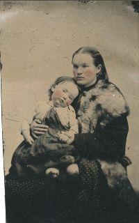 Annie (Sherburne) & Eugene Hurd, Maine 1879