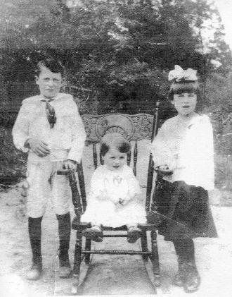 Orville, Wilkie & Edna Adams