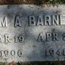 William A Barnes  Gravesite