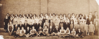 School Group Photo, Cascade Iowa (Found Photo 3)