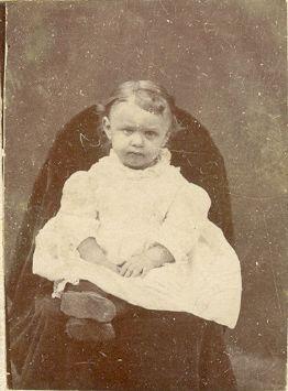 Ida Smith as a baby