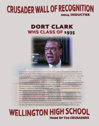 Dort W Clark reward