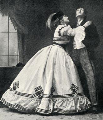 Crinoline Dress, 1898