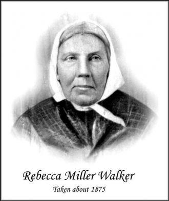 Rebecca Miller Walker, 1875 TN