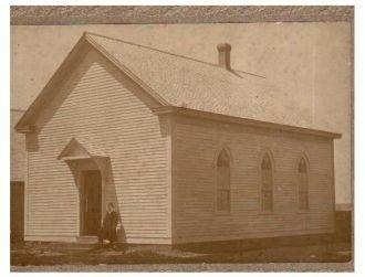 Mystery man and church