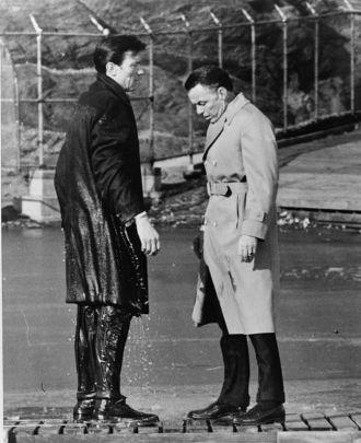 Frank Sinatra & Lawrence Harvey 1962
