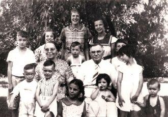 Jesse & Anthony Braunger family