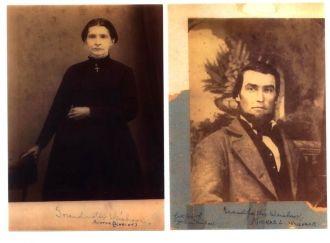 Agatha (Scheidt) & Michael Weishaar, Illinois 1860