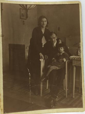 Ana, Ludovic and  Lenka SCHULCZ