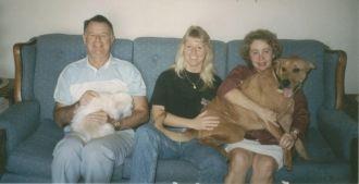 Diane, William, & Marie Crozier, Florida