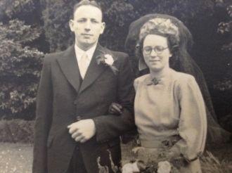 Fredrick & Rita (Hewitt) Dunlop, 1948