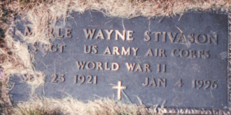 Merle Wayne Stivason Gravesite