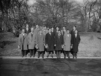 Basketball team of Columbia University at W.H. [i.e....