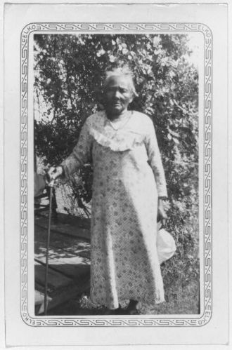 Callie Shepard, ex-slave, Dallas