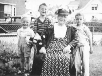 Margaret McConnell Lewis, Rhode Island 1942