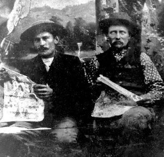 Herman Dieck and Henry Johnson