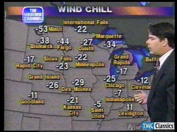 Dennis Smith on The Weather Channel (1991)