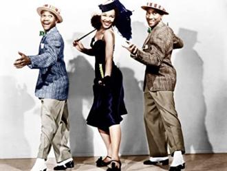 The Nicholas Brothers with Dorothy Dandridge,