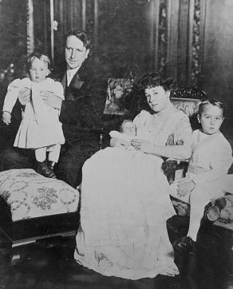 W.R. Hearst & family