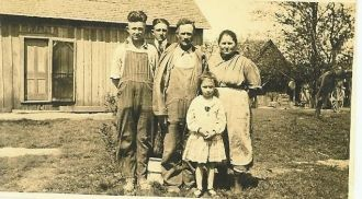 Asa & Rose (Carr) Neal's Family, Abt 1922