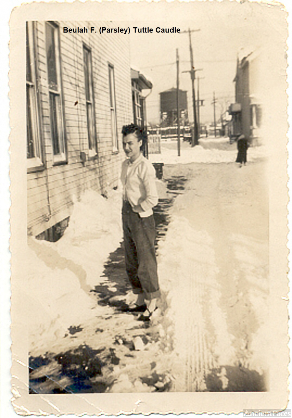 Beulah (Parsley) Tuttle, c.1946