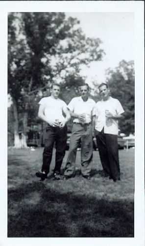Edward, Louis Sr, and Louis Jr Schreiner, New York
