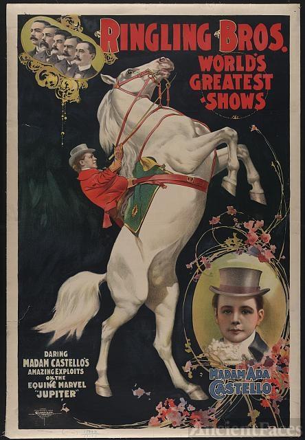 Ringling Bros. World's Greatest Shows - Madam Ada Castello