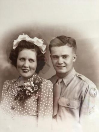 Preston Carden and Mary J Woods