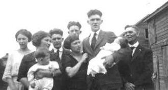 Bill Wheeler Family, 1922