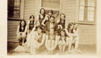 Coldwater Girls Basketball 1931