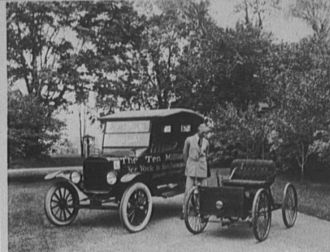 A photo of Henry Ford, I