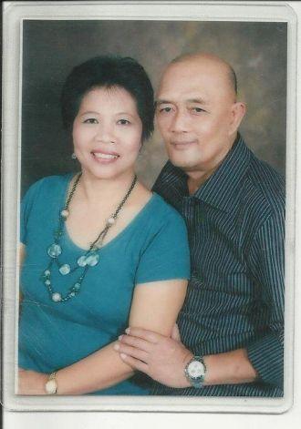 Mr & Mrs Adriano Rafales, Philippines 2010