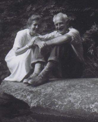 Frieda Planck Clarke and husband Hans Thacher Clarke